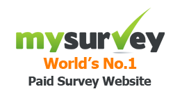 Use MySurvey to get paid for surveys online