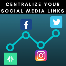 Centralize your social media links
